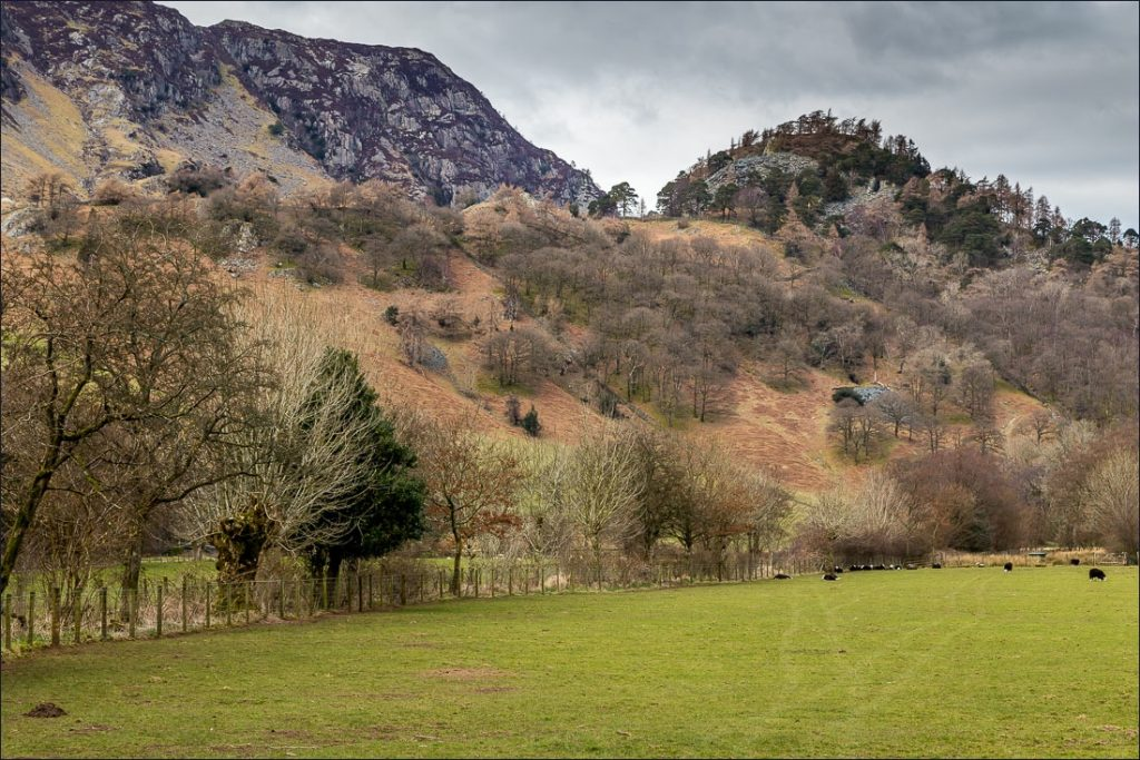 View of Castle Crag, Jaws of Borrowdale.