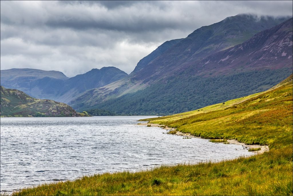 View of Crummock Water in Cumbria